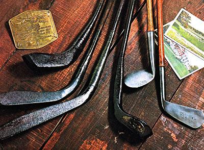 アンティークゴルフクラブ